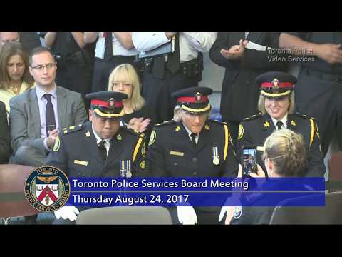 Toronto Police Services Board Meeting | LiveStream | Thurs Aug 24th, 2017, 1pm
