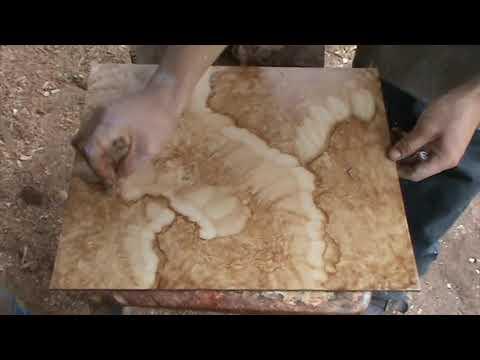 Imitacion o copia de piedra primera parte youtube for Pintura efecto piedra