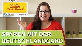 Geld sparen mit der Deutschlandcard | Couponing für Anfänger – Jacquelines Sparwelt