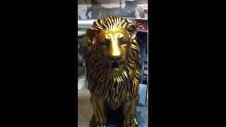 Скульптура Королевского льва(, 2015-07-20T18:01:22.000Z)