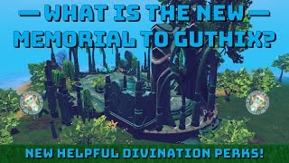 What is the Memorial to Guthix? Tutorial [Runescape 3] Divination perks!