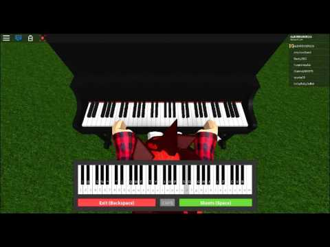 Welcome to the black parade on roblox piano
