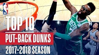 Top 10 Putback Dunks: 2018 NBA Season