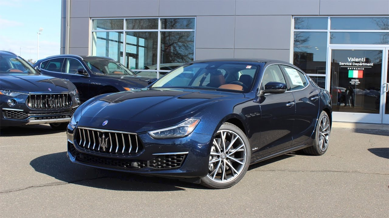 Maserati Ghibli Q4 >> 2019 Maserati Ghibli S Q4 GranLusso Blu Nobile (1 of 50): First Person In Depth Look - YouTube