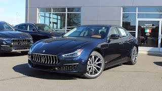 2019 Maserati Ghibli S Q4 GranLusso Blu Nobile (1 of 50): First Person In Depth Look