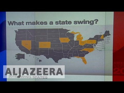 US election: Why are swing states important?