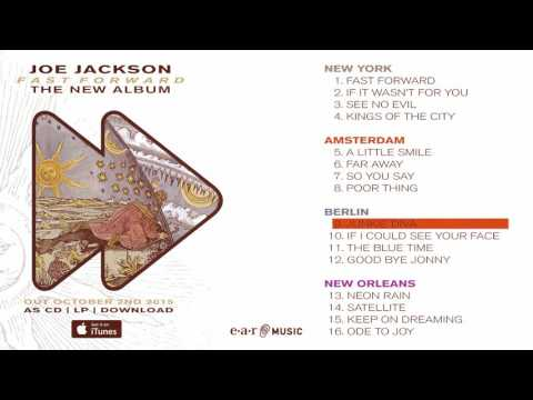 "Joe Jackson ""Fast Forward"" Official Album Pre-listening"