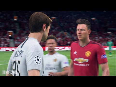 Danny Williams vs Terry Williams FIGHT FIFA 19 The Journey 3