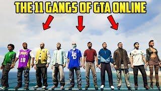 GTA 5 DID YOU KNOW? - The 11 Gangs of GTA Online in Los Santos!