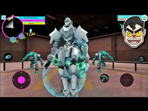 GIANT EXPERIMENTAL ROBOT | Cyber Future Crime - Commentary Gameplay (Android/iOS)