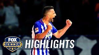 Ibisevic goal gives Hertha Berlin 1-0 advantage over FC Koln - 2015–16 Bundesliga Highlights