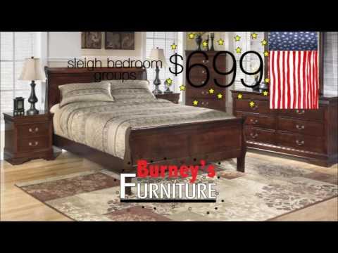 Burney's Furniture Sleight Bedroom
