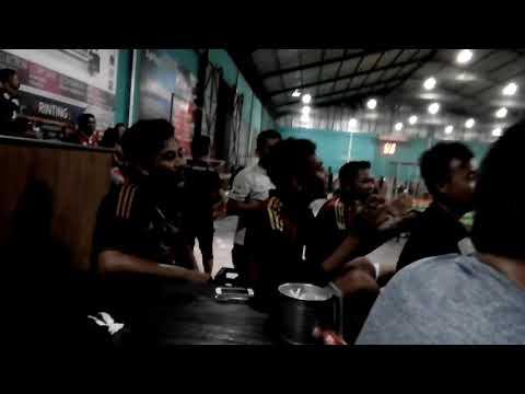 Nobar pertandingan sepakbola (Indonesia vs Malaysia) @metro futsal