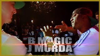 B MAGIC VS J MURDA RAP BATTLE - RBE