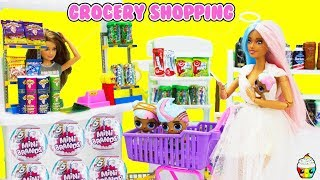 Sugar Family Grocery Shopping Empty Store FULL CASE Zuru Surprise Mini Brands