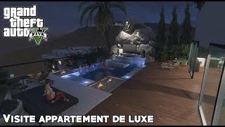 GTA 5 - Visite d'un appartement de luxe à Los Santos (mod)