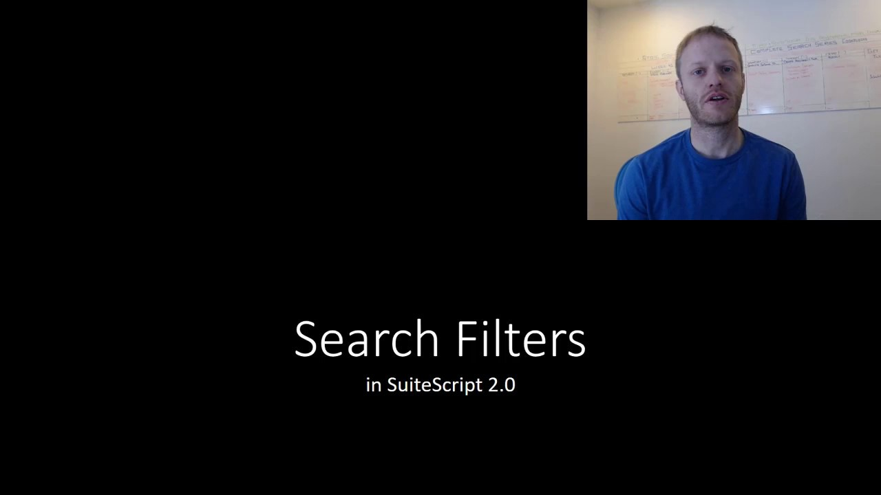 [ESS] Search Filters in SuiteScript 2 0