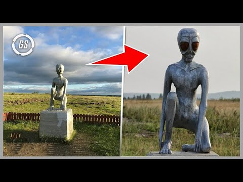 10 Things That Will Make You Believe In Aliens!!