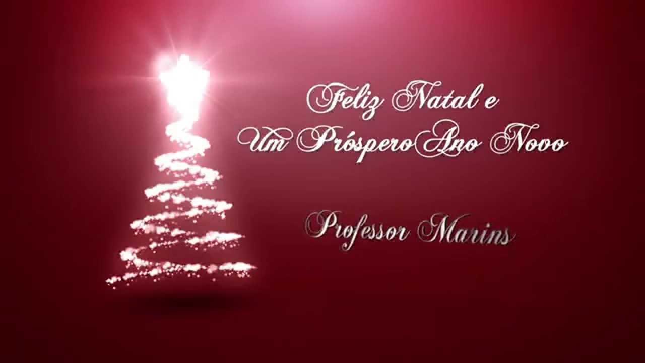 Feliz natal e um prospero ano novo youtube for Mural de natal 4 ano