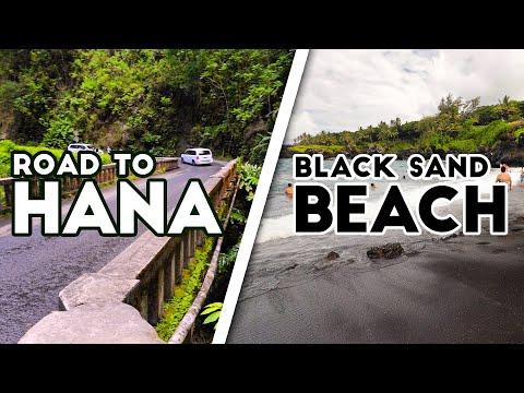 ROAD TO HANA & BLACK SAND BEACH   Maui Episode 5