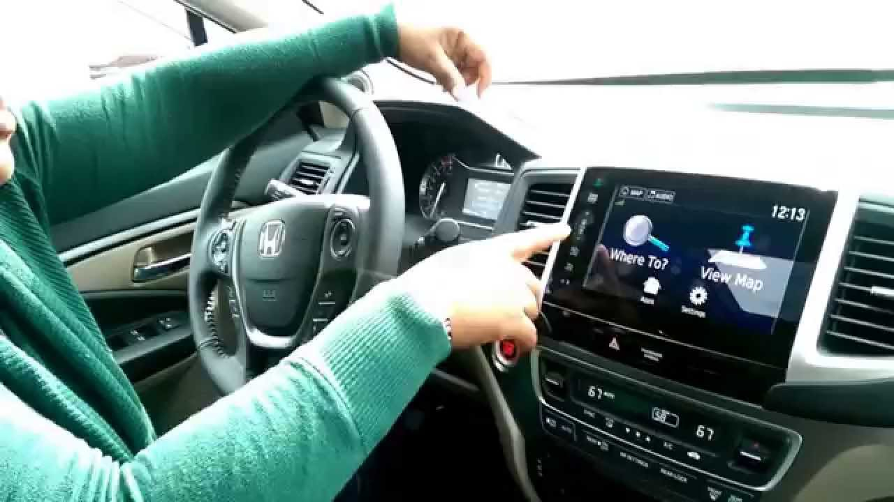 2016 Honda Pilot EXL with Navigation  YouTube