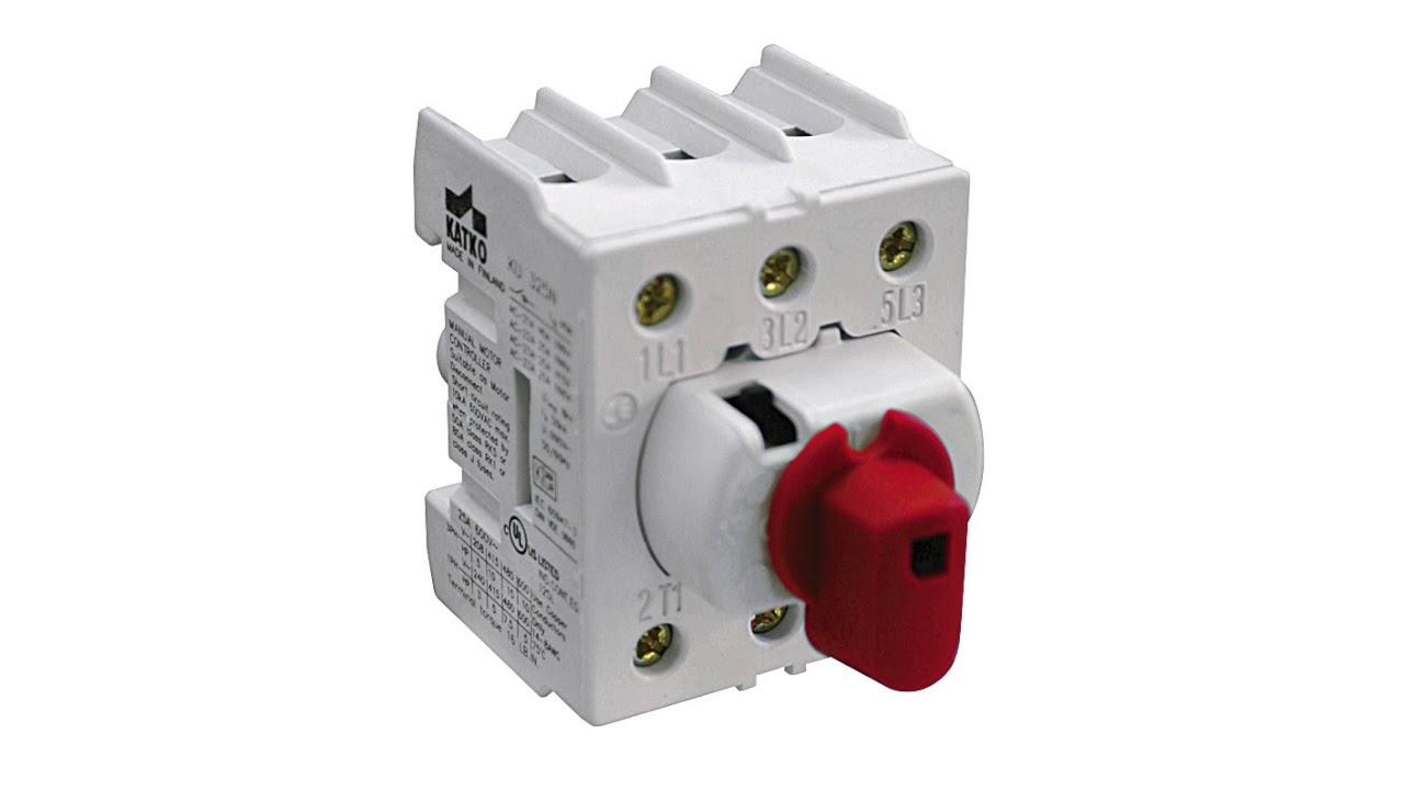 Enclosed Disconnect Switch 3-P ALTECH 60A 600V Max KEM360UL-Y//R