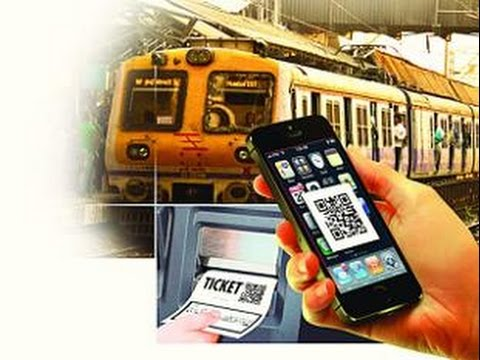Now, Book Unreserved Train Tickets Via App