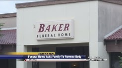 Family feels disrespected by Wichita funeral home service