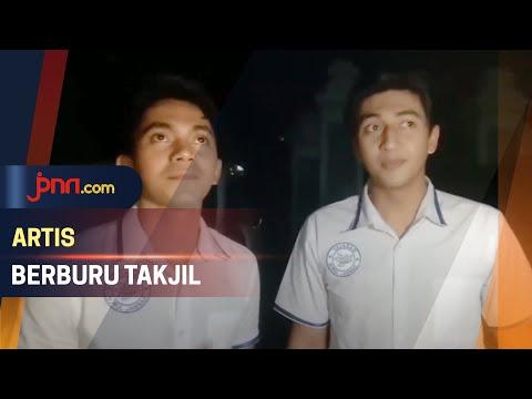 Harris Vriza dan Ady Sky Rindu Berburu Takjil di Kampung