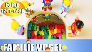 Playmobil Filme Familie Vogel: Folge 1271-1280 | Kinderserie | Videosammlung Compilation Deutsch