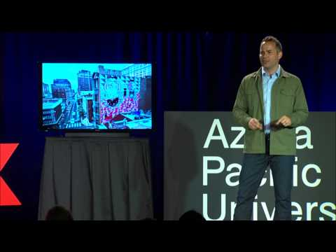 The Streets As Canvas | G. James Daichendt | TEDxAzusaPacificUniversity