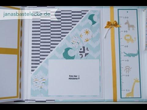 Kreativer Montag 65 - Hardcover Erinnerungsalbum für Babys 1. Jahr - Teil 2
