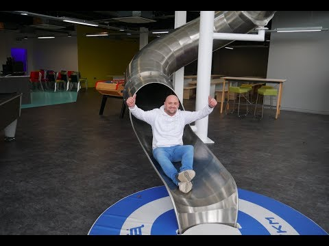Quite possibly the coolest offices in the world!