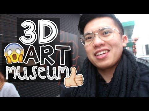 3D ART MUSEUM!! 😱🙈 HAHA :)) 😂