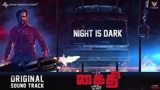 Kaithi |Night is dark BGM|karthi| Lokesh kanagaraj|kaithi bgm|sam cs