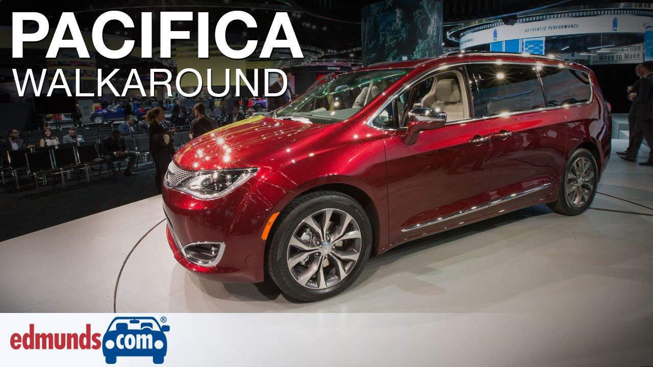 2017 Chrysler Pacifica Walkaround Review Detroit Auto Show