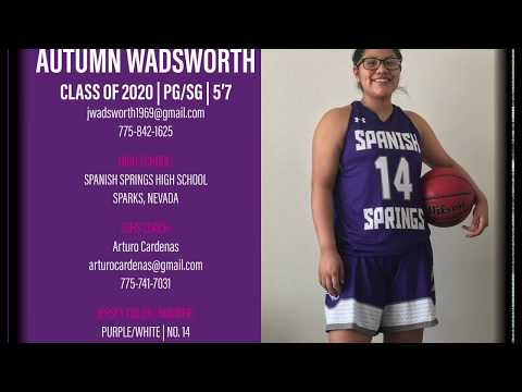 Autumn Wadsworth Basketball