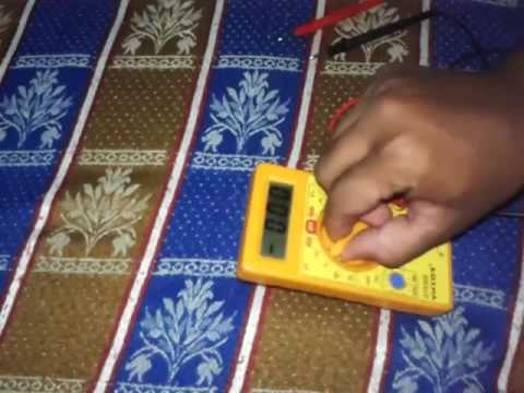 multimeter tutorial in tamil part-1