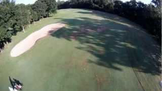 golf gourjade castres vu du drone