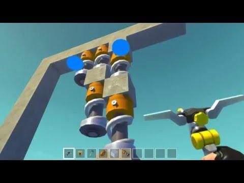 Scrap Mechanic - Разбор механики и хитростей игры