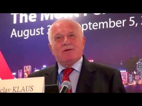 Václav Klaus - The Lessons of  the European Experience - Hong Kong Sept. 1, 2014