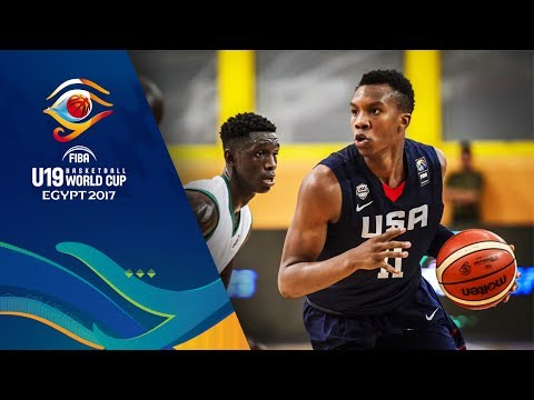 Mali v USA - Full Game - Round of 16 - FIBA U19 Basketball World Cup 2017