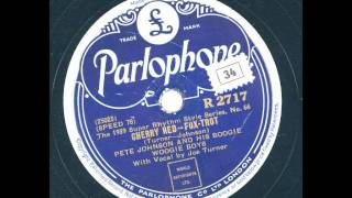 Pete Johnson and his boogie woogie boys - Cherry red