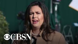 Sarah Huckabee Sanders interviewed by special counsel Robert Mueller's team