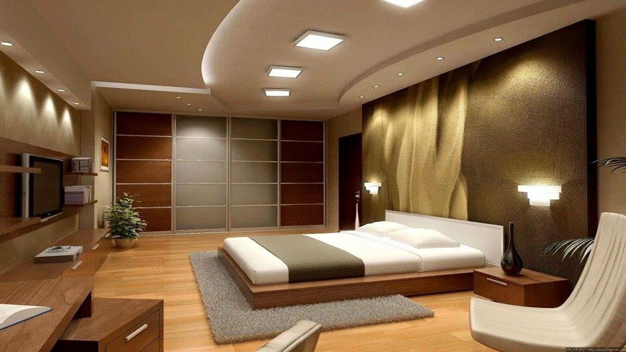 Interior design light bedroom