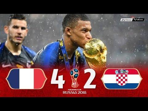 ФИНАЛ ЧМ-2018: Франция vs. Хорватия - Обзор матча; Все голы