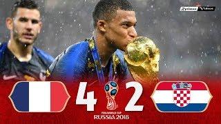 France 4 x 2 Croatia 2018 World Cup Final Extended Goals Highlights HD