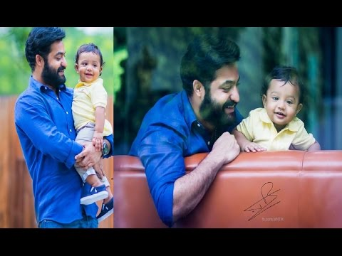 Jr Ntr With His Son Abhay Ram HD Video ...