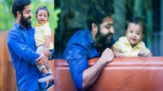 Jr Ntr With His Son Abhay Ram HD Video  Exclusive!!!