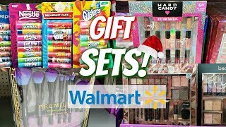 WALMART CHRISTMAS GIFT SETS STOCKING STUFFERS SHOP WITH ME 2018